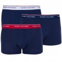 3PACK pánske boxerky Tommy Hilfiger tmavo modré (1U87903841 904)