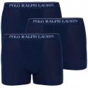3PACK pánske boxerky Ralph Lauren tmavo modré (714513424006)