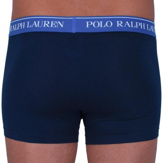 3PACK pánské boxerky Ralph Lauren tmavě modré (714662050007)