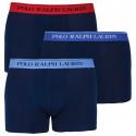 3PACK pánske boxerky Ralph Lauren tmavo modré (714662050007)