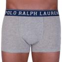 Pánske boxerky Ralph Lauren sivé (714707318001)