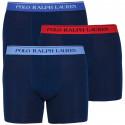3PACK pánske boxerky Ralph Lauren tmavo modré (714713772004)