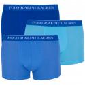 3PACK pánske boxerky Ralph Lauren modré (714662050011)