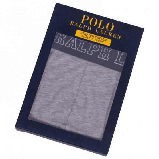 Pánské boxerky Ralph Lauren šedé (714684602007)
