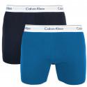 2PACK pánske boxerky Calvin Klein viacfarebné (NB1087A-SBN)