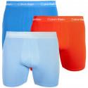 3PACK pánske boxerky Calvin Klein viacfarebné (NB1770A-YTP)
