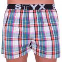 Pánske trenky Styx športová guma viacfarebné (B622)