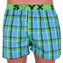 Pánske trenky Styx športová guma viacfarebné (B640)