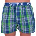 Pánske trenky Styx športová guma viacfarebné  (B635)