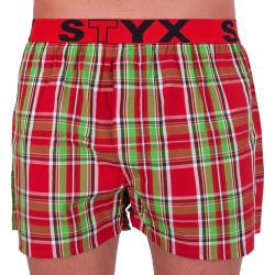 Pánské trenky Styx sportovní guma vícebarevné (B624)