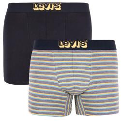 2PACK pánské boxerky Levis vícebarevné (995004001 758)
