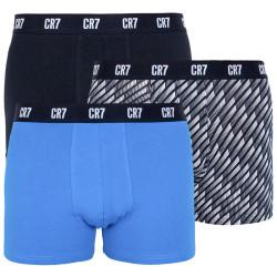 3PACK pánské boxerky CR7 vícebarevné (8110-49-702)