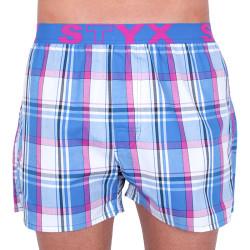 Pánské trenky Styx sportovní guma vícebarevné (B740)