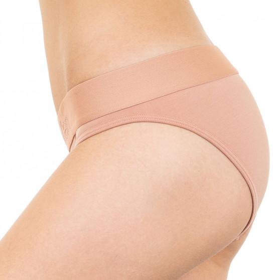 Dámské kalhotky Calvin Klein hnědé (QF4943E-YUT)