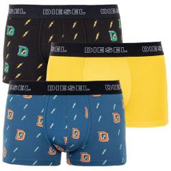 3PACK pánské boxerky Diesel vícebarevné (00ST3V-0SAWU-E4907)