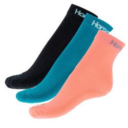 3PACK ponožky Horsefeathers vícebarevné (AW041A)