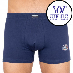 Pánské boxerky Andrie  tmavě modré (PS 5182a)