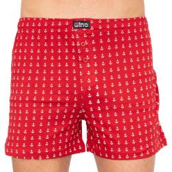 Pánské trenky Gino červené (75137)