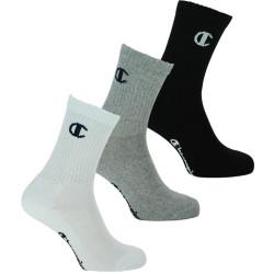 3PACK ponožky Champion vícebarevné (Y08QG)