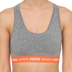 Dámská sportovní podprsenka Puma šedá (574006001 955)