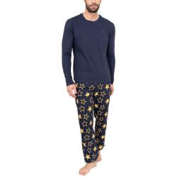 Pánské pyžamo Tommy Hilfiger vícebarevné (UM0UM01678 0XQ)