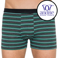 Pánské boxerky Andrie zelené (PS 5255b)