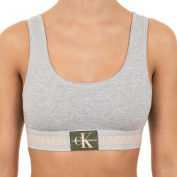 Dámská podprsenka Calvin Klein šedá (QF4918E-GCD)