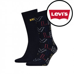 2PACK ponožky Levis vícebarevné (993045001 321)