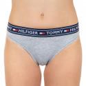 Dámske nohavičky brazilky Tommy Hilfiger sivé (UW0UW00723 004)