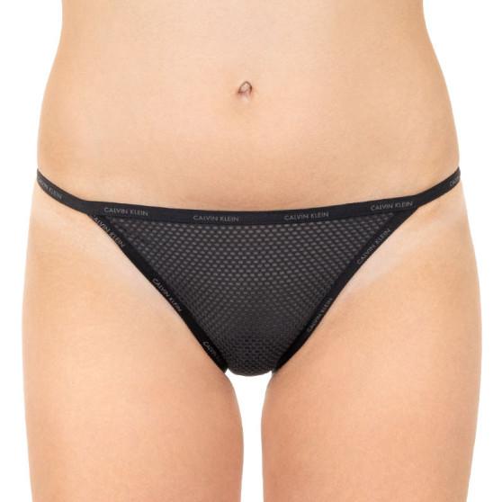 Dámské kalhotky Calvin Klein černé (QF4628E-001)