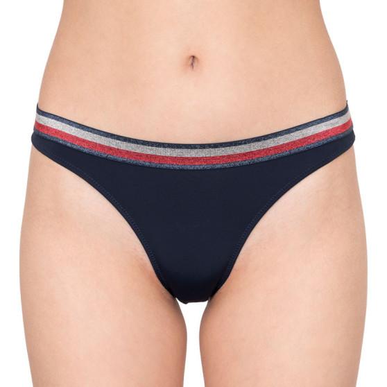 Dámské kalhotky Tommy Hilfiger tmavě modré (UW0UW01041 416)