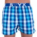 Pánske trenky Styx športová guma viacfarebné (B712)