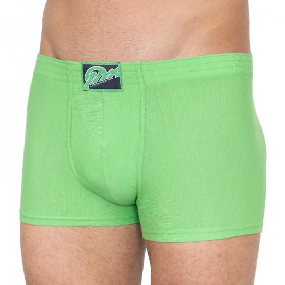 Pánské boxerky Styx klasická guma zelené (Q665)