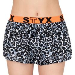 Dámské trenky Styx art sportovní guma gepard (T551)