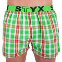 Pánske trenky Styx športová guma viacfarebné (B633)