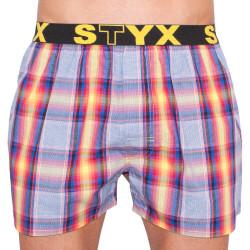 Pánské trenky Styx sportovní guma vícebarevné (B629)