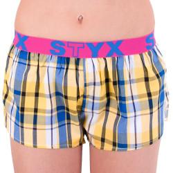 Dámské trenky Styx sportovní guma vícebarevné (T636)