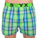 Pánske trenky Styx športová guma viacfarebné (B618)