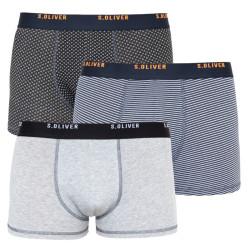 3PACK pánské boxerky S.Oliver vícebarevné (26.899.97.5624.16B1)