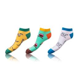 3PACK ponožky crazy Bellinda vícebarevné (BE491005-319)