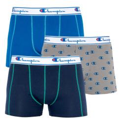 3PACK pánské boxerky Champion vícebarevné (Y081W)