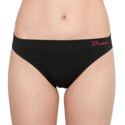 Dámské kalhotky Gina bambusové černé (00043)
