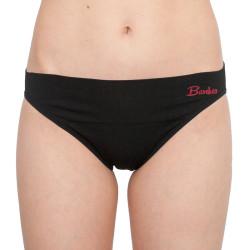 Dámské kalhotky Gina bambusové černé (00045)