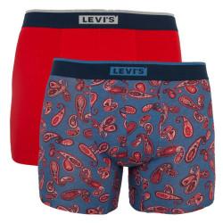 2PACK pánské boxerky Levis vícebarevné (905035001 002)