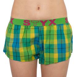 Dámské trenky Styx sportovní guma vícebarevné (T813)