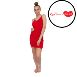 Dámská noční košile Cocoon Secret červená (COC3072AG)