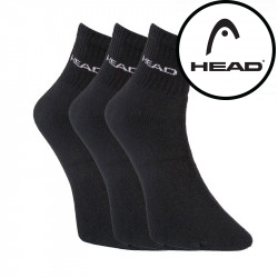 3PACK ponožky HEAD černé (751003001 200)