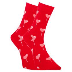 Veselé ponožky Dots Socks srdíčka (DTS-SX-488-W)