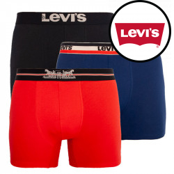 3PACK pánské boxerky Levis vícebarevné (100000520 001)