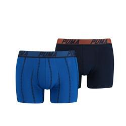 2PACK pánské boxerky Puma modré (601003001 001)